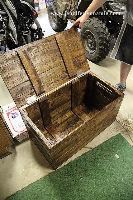 Best ideas about DIY Wood Chest Plans . Save or Pin Diy Wooden Toy Box WoodWorking Projects & Plans Now.