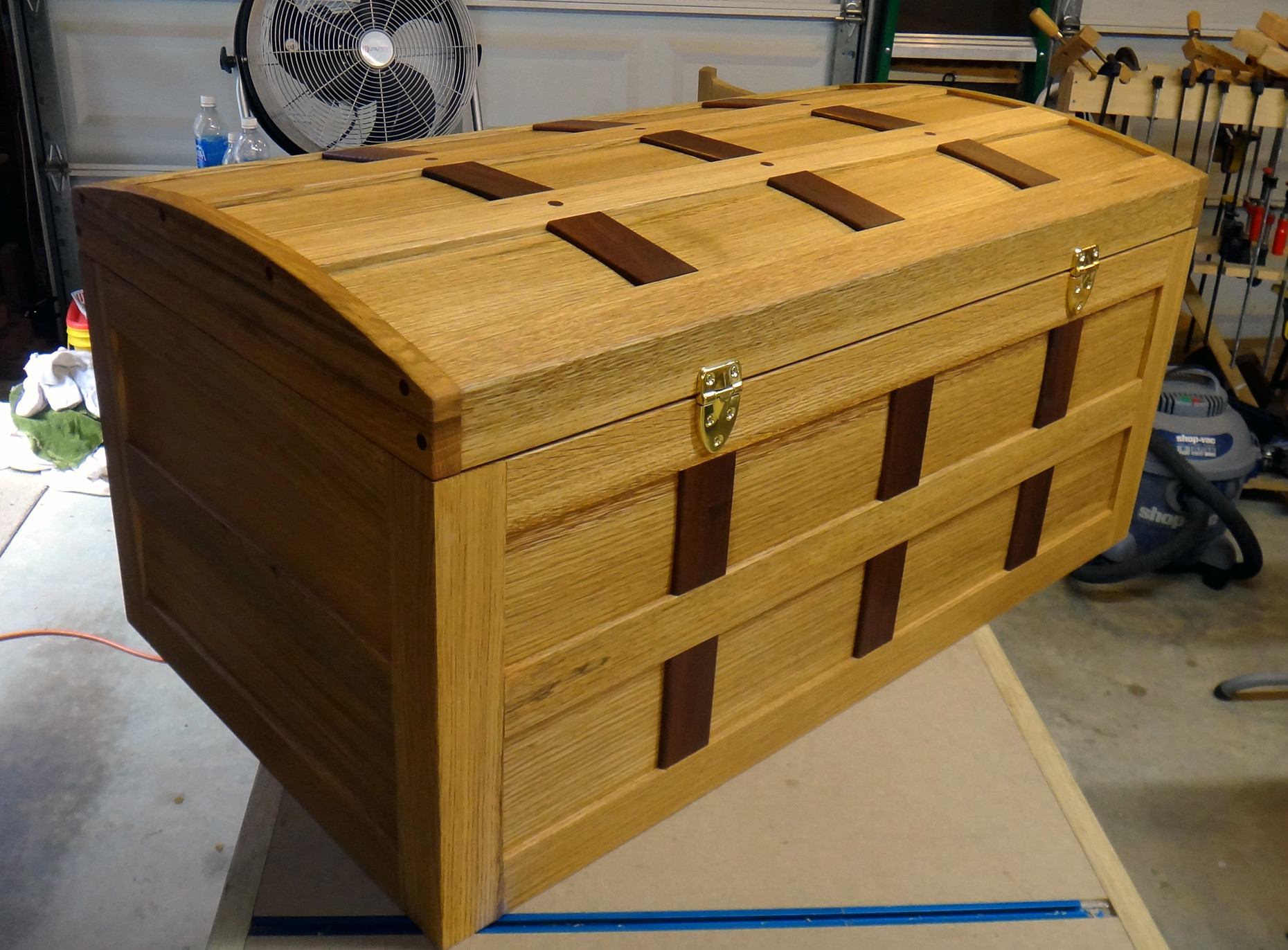 Best ideas about DIY Wood Chest Plans . Save or Pin steamer trunk Now.