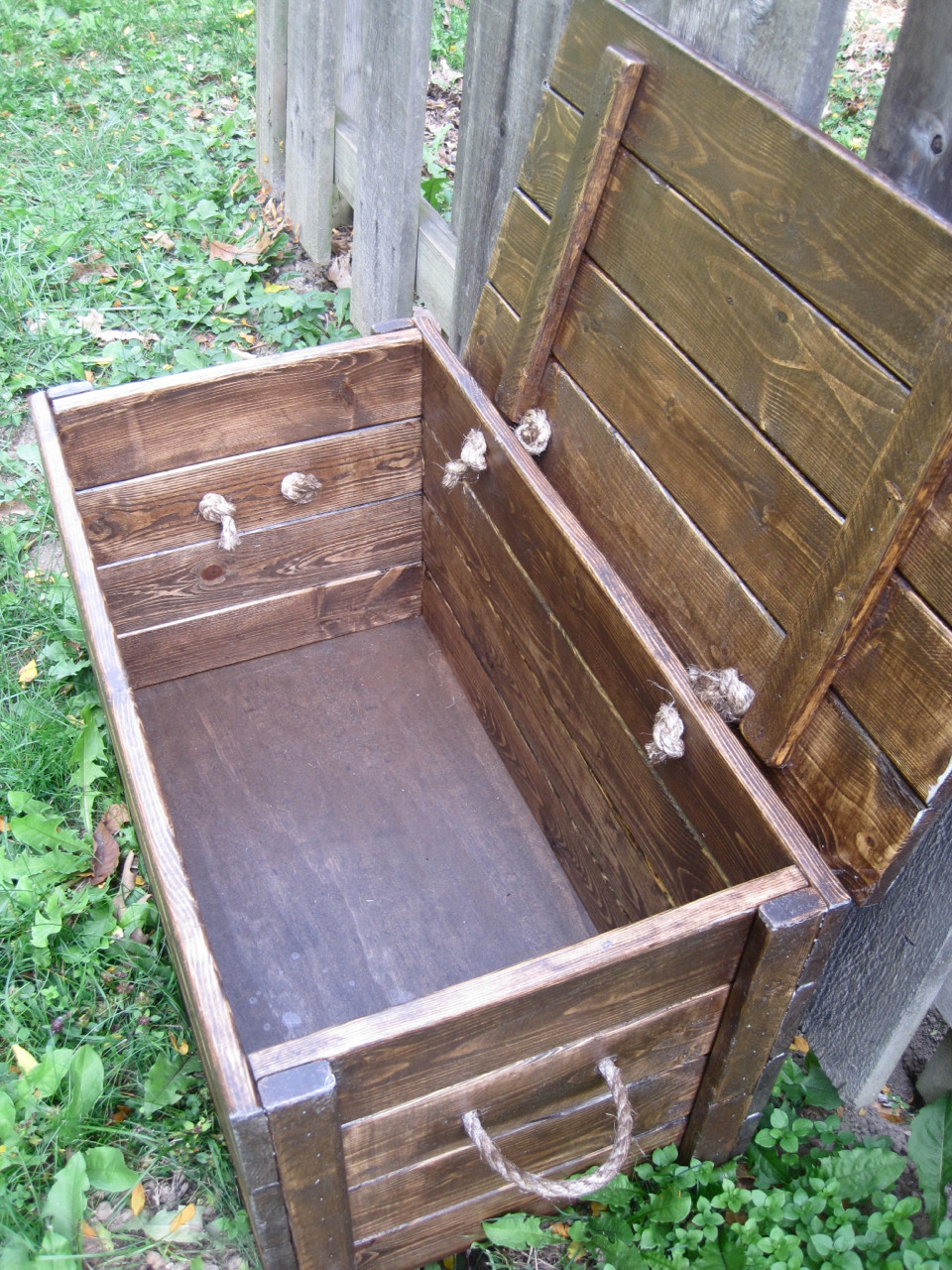 Best ideas about DIY Wood Chest Plans . Save or Pin The Project Lady Wood Storage Chest Make your own Now.
