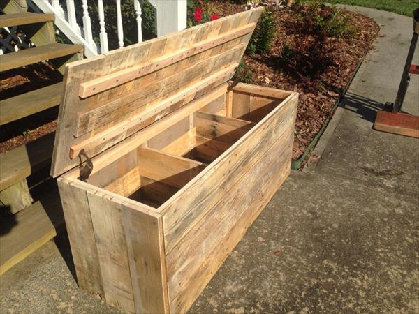 Best ideas about DIY Wood Chest Plans . Save or Pin DIY Rustic Pallet Chest Now.