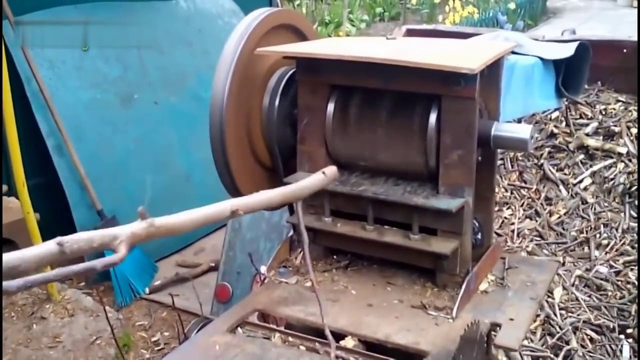 Best ideas about DIY Wood Chippers . Save or Pin Best Amazing Homemade Wood Chipper Machine Extreme Fast Now.