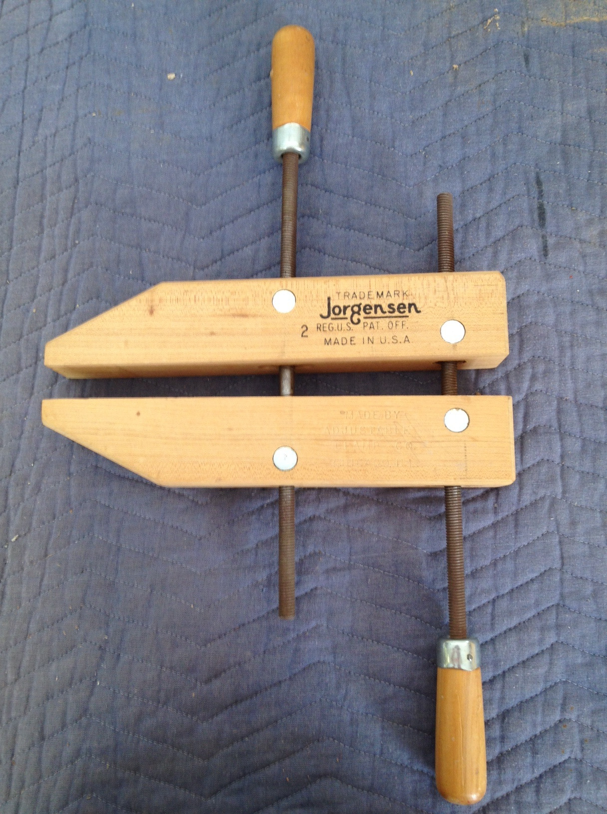Best ideas about DIY Wood Clamp . Save or Pin DIY History Clamps Wooden PDF highland woodworking show Now.