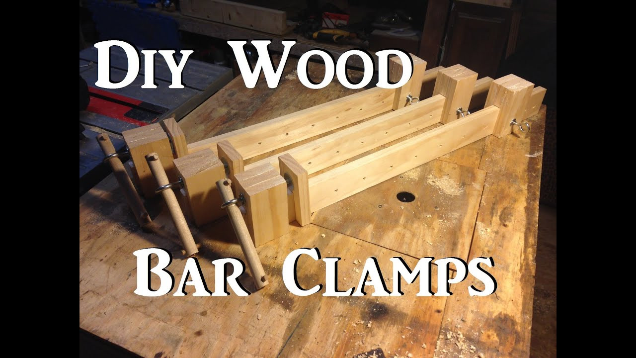 Best ideas about DIY Wood Clamp . Save or Pin Diy Wooden Bar Clamps Now.