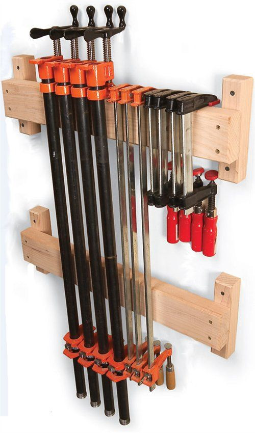 Best ideas about DIY Wood Clamp . Save or Pin Diy Wood Clamp Storage WoodWorking Projects & Plans Now.