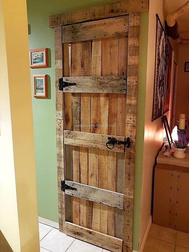 Best ideas about DIY Wood Door . Save or Pin Best 20 Pallet Door ideas on Pinterest Now.