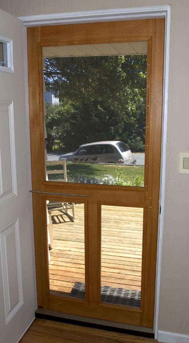 Best ideas about DIY Wood Door . Save or Pin Handmade screen door – The Owner Builder Network Now.