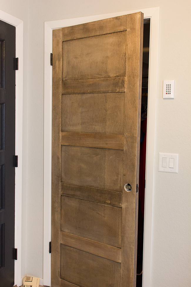 Best ideas about DIY Wood Door . Save or Pin Remodelaholic Now.