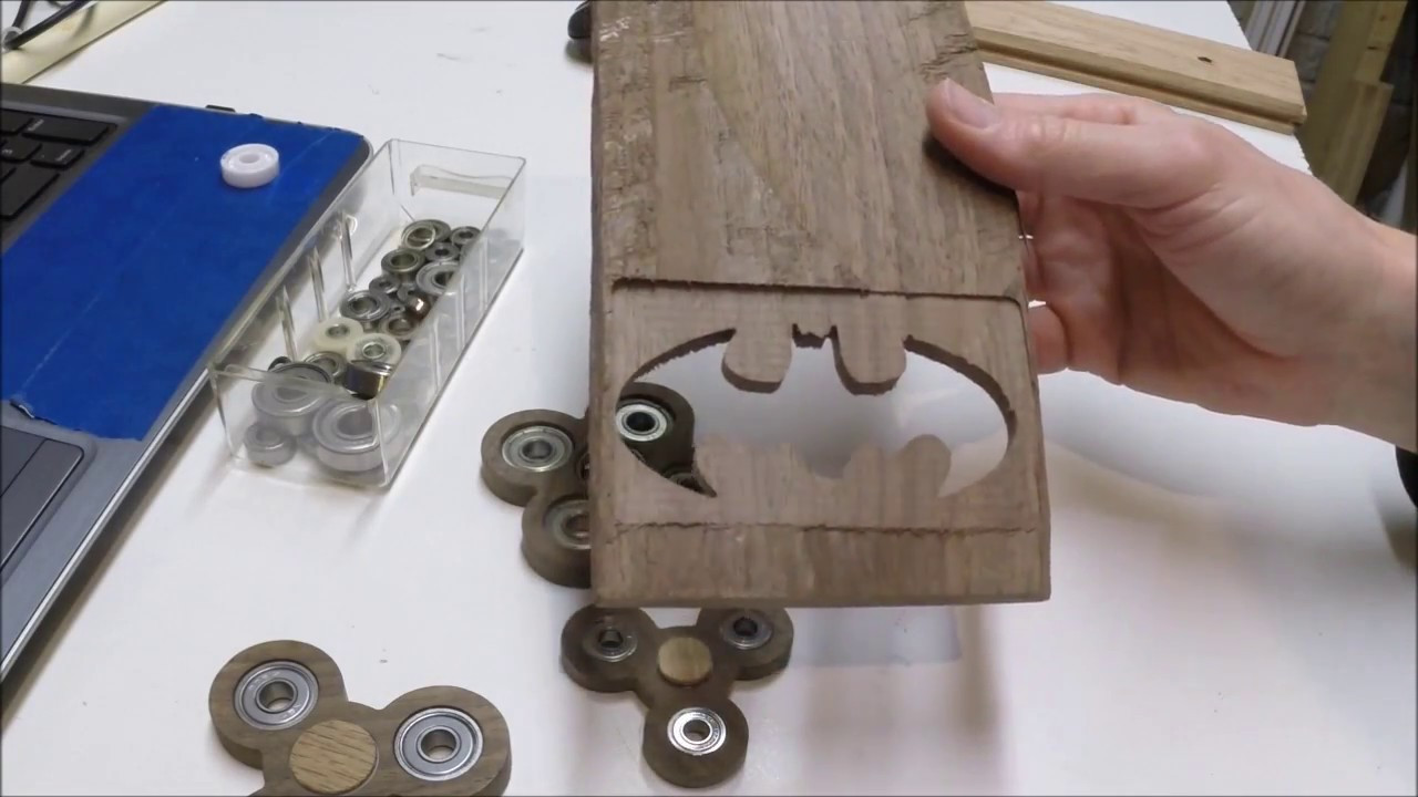 Best ideas about DIY Wood Fidget Spinner . Save or Pin DIY Custom made finger fid spinner from scrap wood Now.