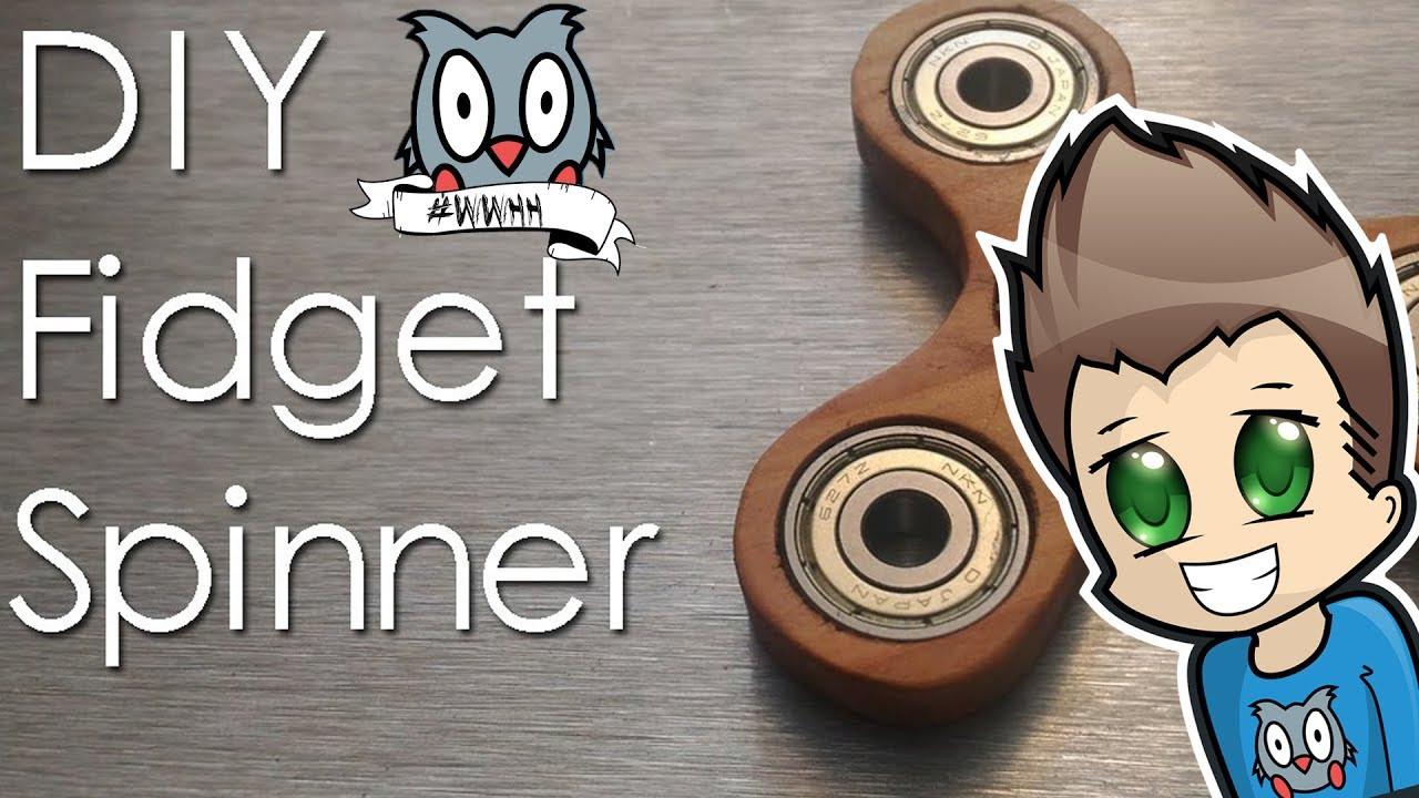Best ideas about DIY Wood Fidget Spinner . Save or Pin DIY WOODEN FIDGET SPINNER Now.