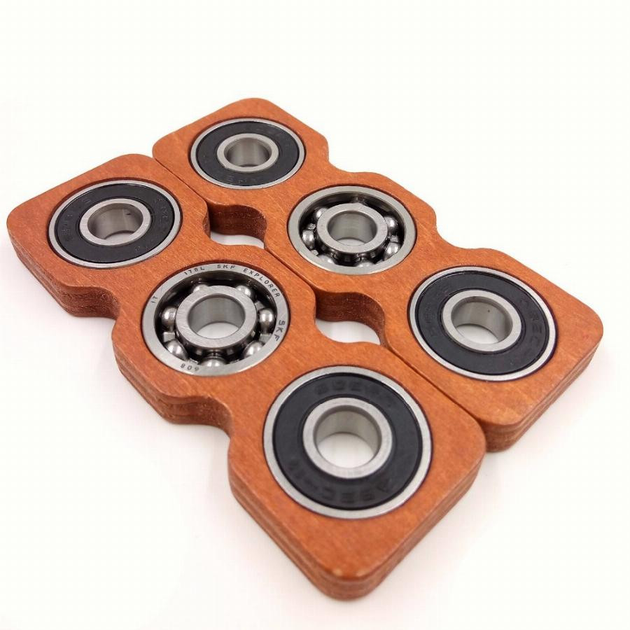 Best ideas about DIY Wood Fidget Spinner . Save or Pin Diy Creative Rectangle Wooden Fid Spinner Edc Focus Now.