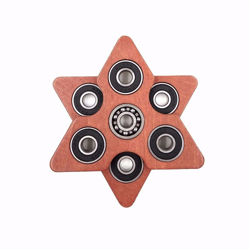 Best ideas about DIY Wood Fidget Spinner . Save or Pin 1Pc Creative Triangle Wooden Puzzle Fid Spinner Edc Now.