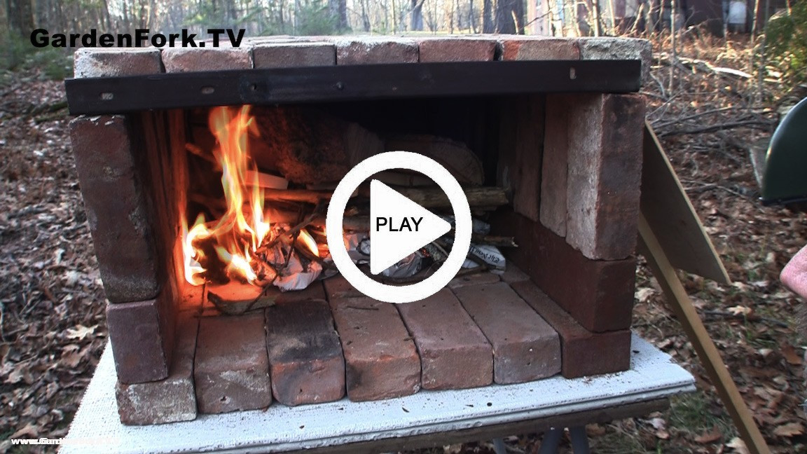 Best ideas about DIY Wood Fired Oven . Save or Pin Brick Pizza Oven Video & Plans GF TV GardenFork TV Now.