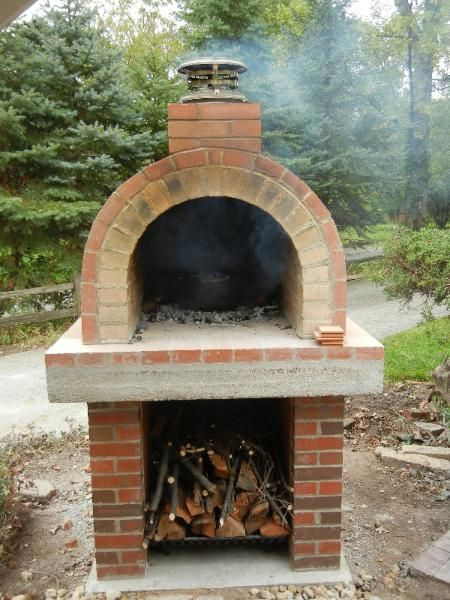 Best ideas about DIY Wood Fired Oven . Save or Pin Build A Wood Fired Brick Oven DIY Pizza Oven smoker Now.