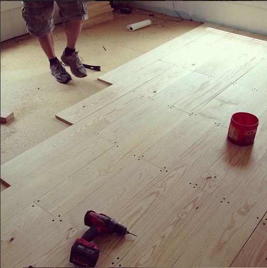 Best ideas about DIY Wood Floors . Save or Pin DIY Wood Floors Now.