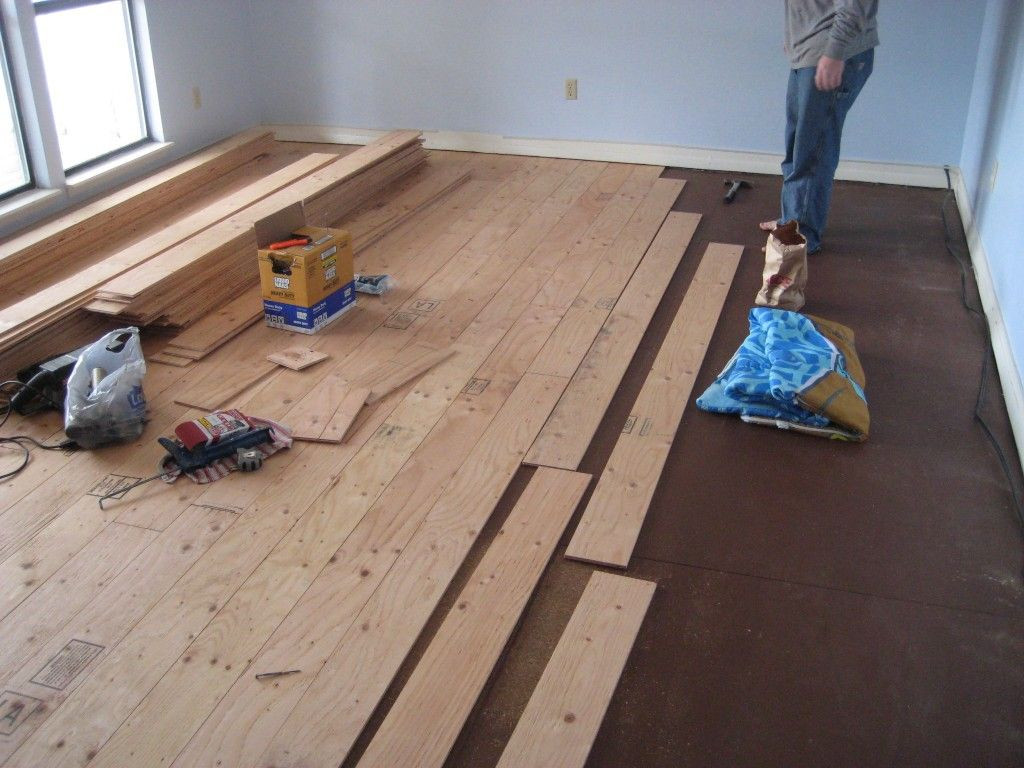 Best ideas about DIY Wood Floors . Save or Pin Real Wood Floors Made From Plywood For the Home Now.