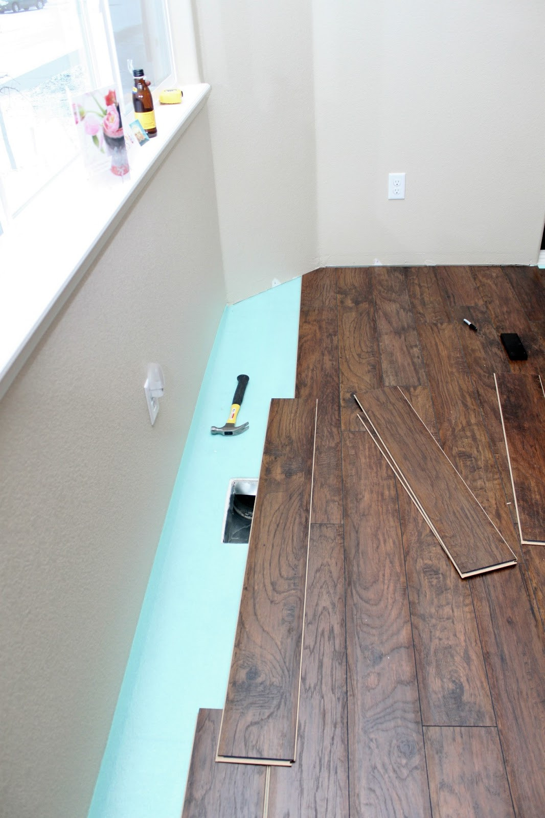 Best ideas about DIY Wood Floors . Save or Pin Our Modern Homestead DIY Laminate wood flooring project Now.