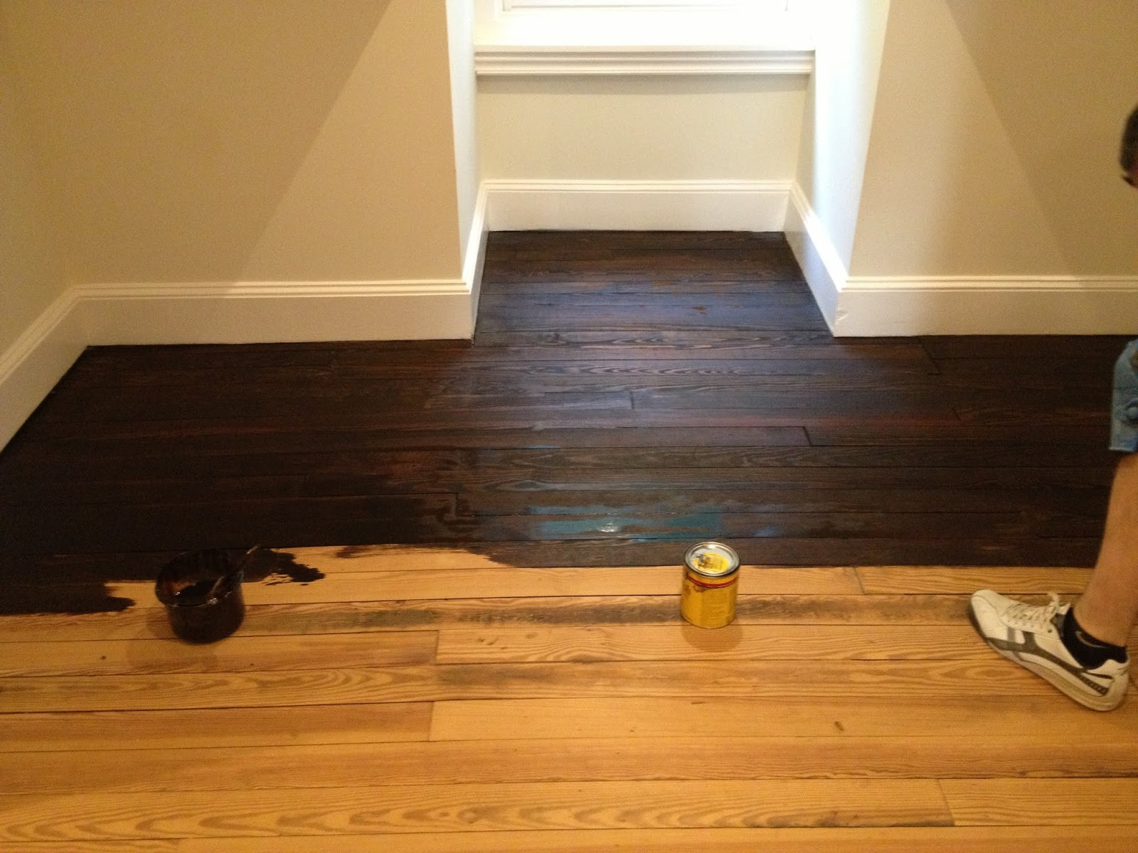 Best ideas about DIY Wood Floors . Save or Pin High Street Market 3rd Floor Refinished Hardwood Floor DIY Now.