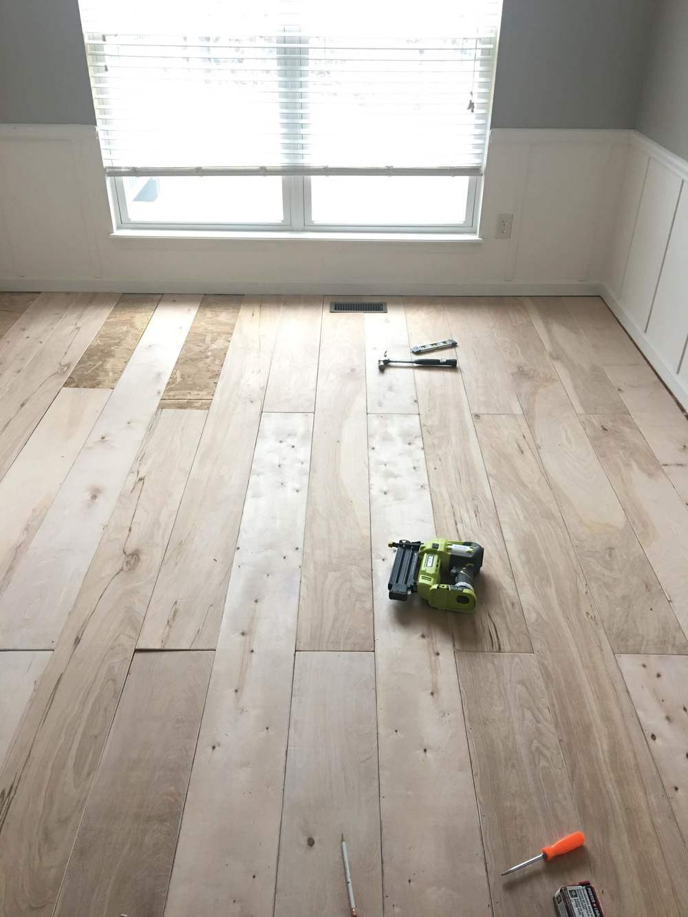 Best ideas about DIY Wood Floors . Save or Pin Plywood Turned Hardwood Flooring DIY — The Other Side of Now.