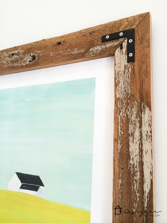 Best ideas about DIY Wood Frame . Save or Pin How to Make a DIY Picture Frame from Upcyled Wood Now.