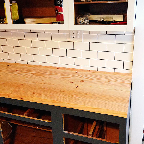 Best ideas about DIY Wood Plank Countertops . Save or Pin DIY Wood Plank Countertops Now.