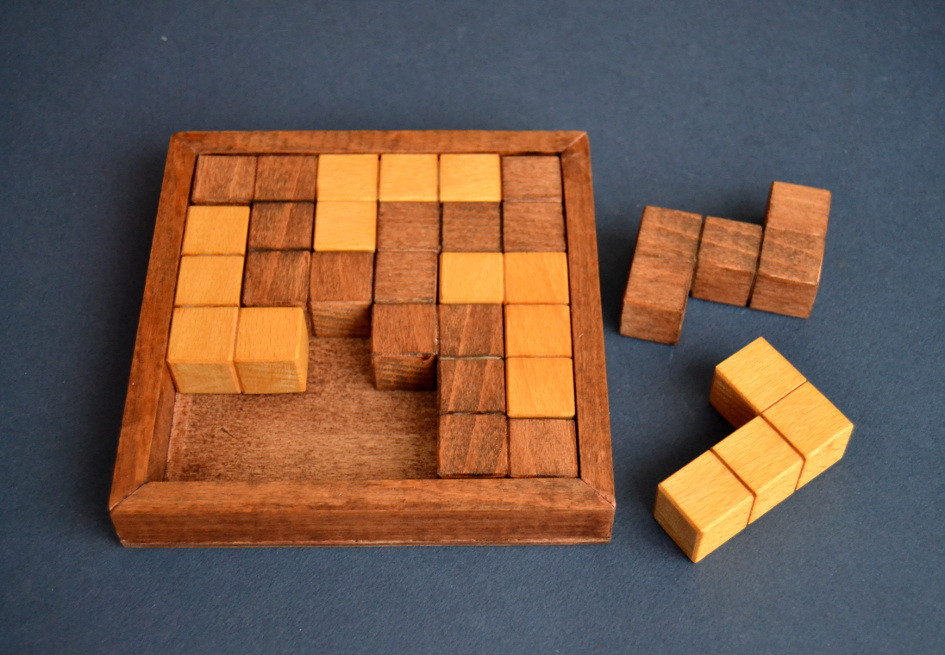 Best ideas about DIY Wood Puzzle . Save or Pin cube Now.