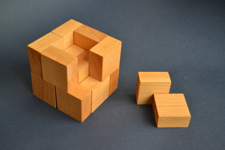 Best ideas about DIY Wood Puzzle . Save or Pin 4x4x4 cube Now.