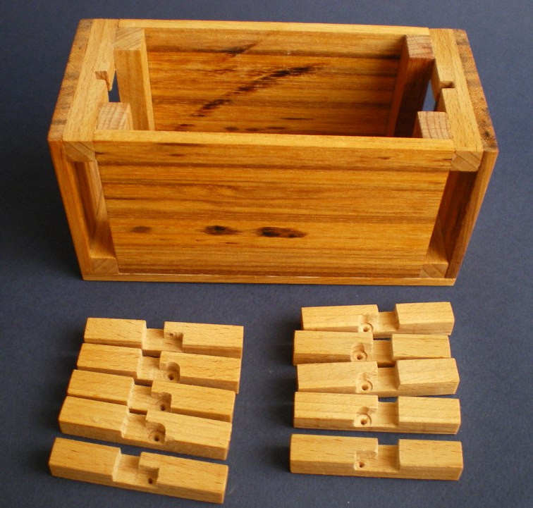 Best ideas about DIY Wood Puzzle . Save or Pin Twin Lock Box Now.