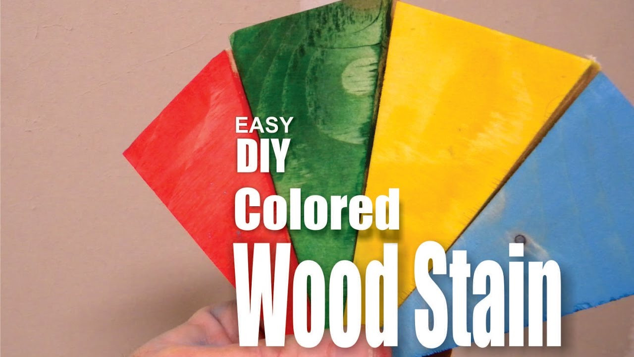 Best ideas about DIY Wood Stain Colors . Save or Pin How to make DIY Colored Wood Stain Now.