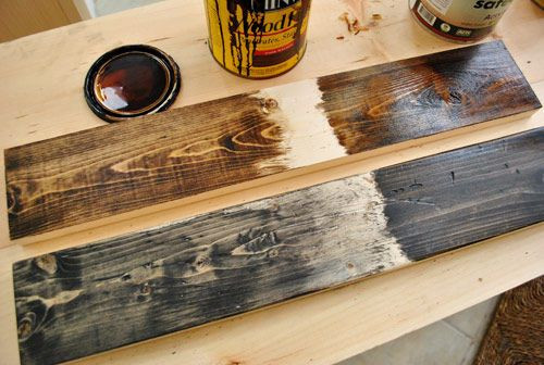 Best ideas about DIY Wood Stain Colors . Save or Pin Wood Staining Techniques on Pinterest Now.