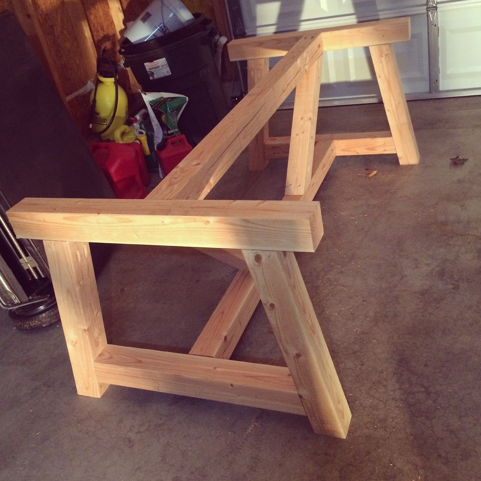 Best ideas about DIY Wood Table Legs . Save or Pin Holy Cannoli We Built a Farmhouse Dining Room Table Now.