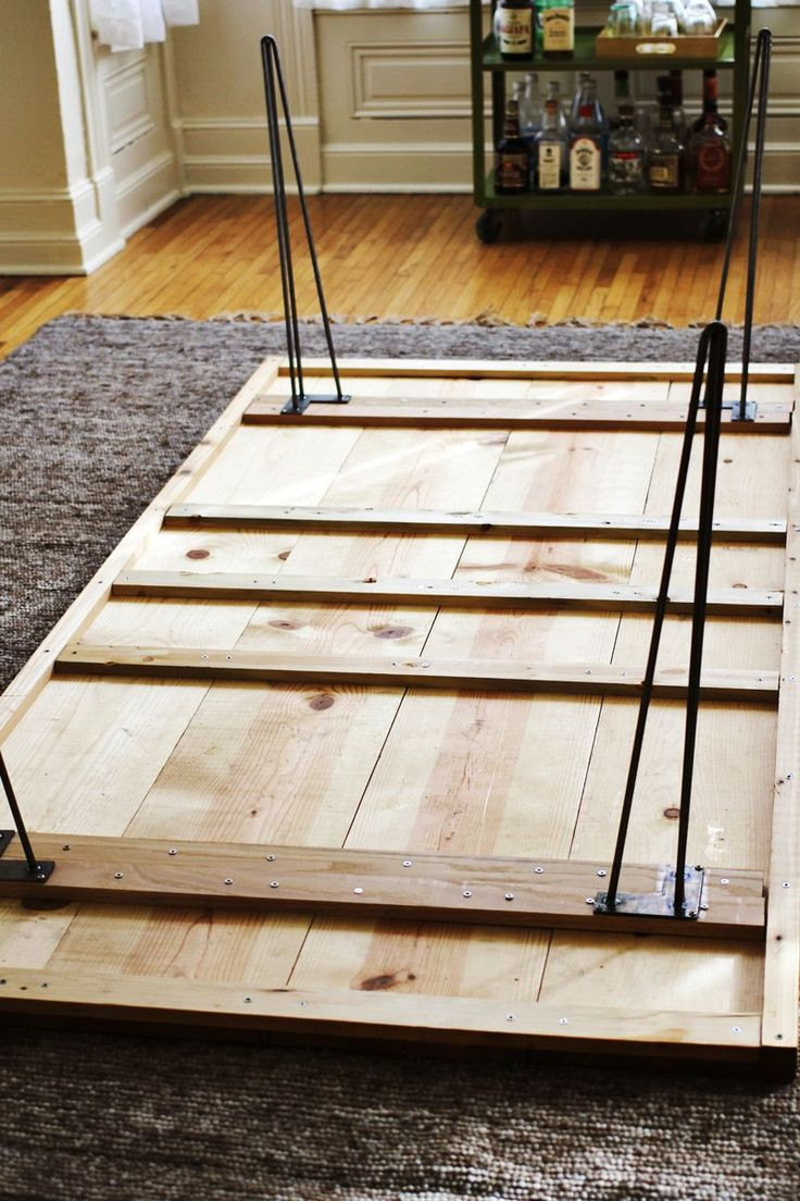 Best ideas about DIY Wood Table Legs . Save or Pin Diy Dining Room Table Hairpin Legs WoodWorking Projects Now.