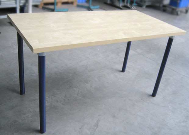 Best ideas about DIY Wood Table Legs . Save or Pin Pipe Leg DIY Table Build From Any Wood Table Top Now.