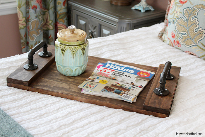 Best ideas about DIY Wood Trays . Save or Pin DIY Stained Wood Tray How to Nest for Less™ Now.