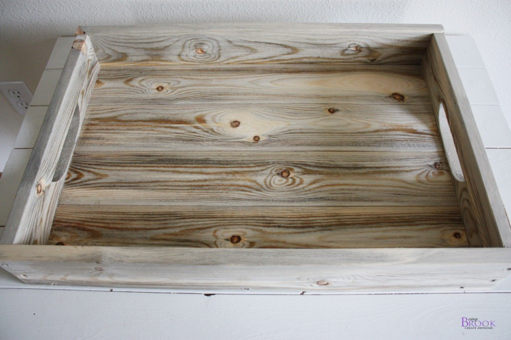 Best ideas about DIY Wood Trays . Save or Pin DIY Rustic Tray Building Now.