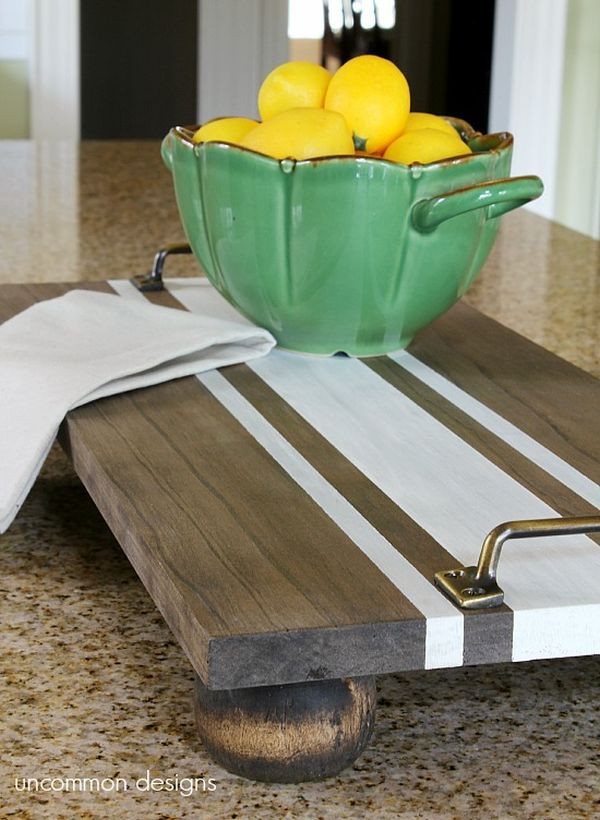 Best ideas about DIY Wood Trays . Save or Pin Favorite Handmade Tray Projects 20 Easy DIY Serving Trays Now.
