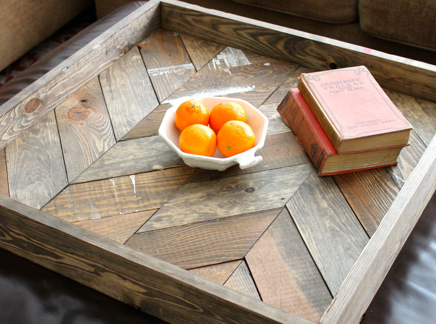 Best ideas about DIY Wood Trays . Save or Pin Shabby Chic DIY Pallet Wood Tray Now.