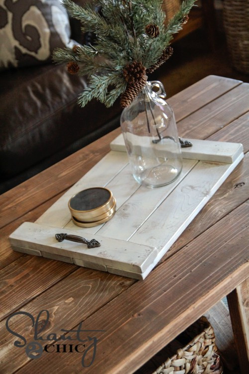 Best ideas about DIY Wood Trays . Save or Pin DIY $8 Wood Tray Shanty 2 Chic Now.