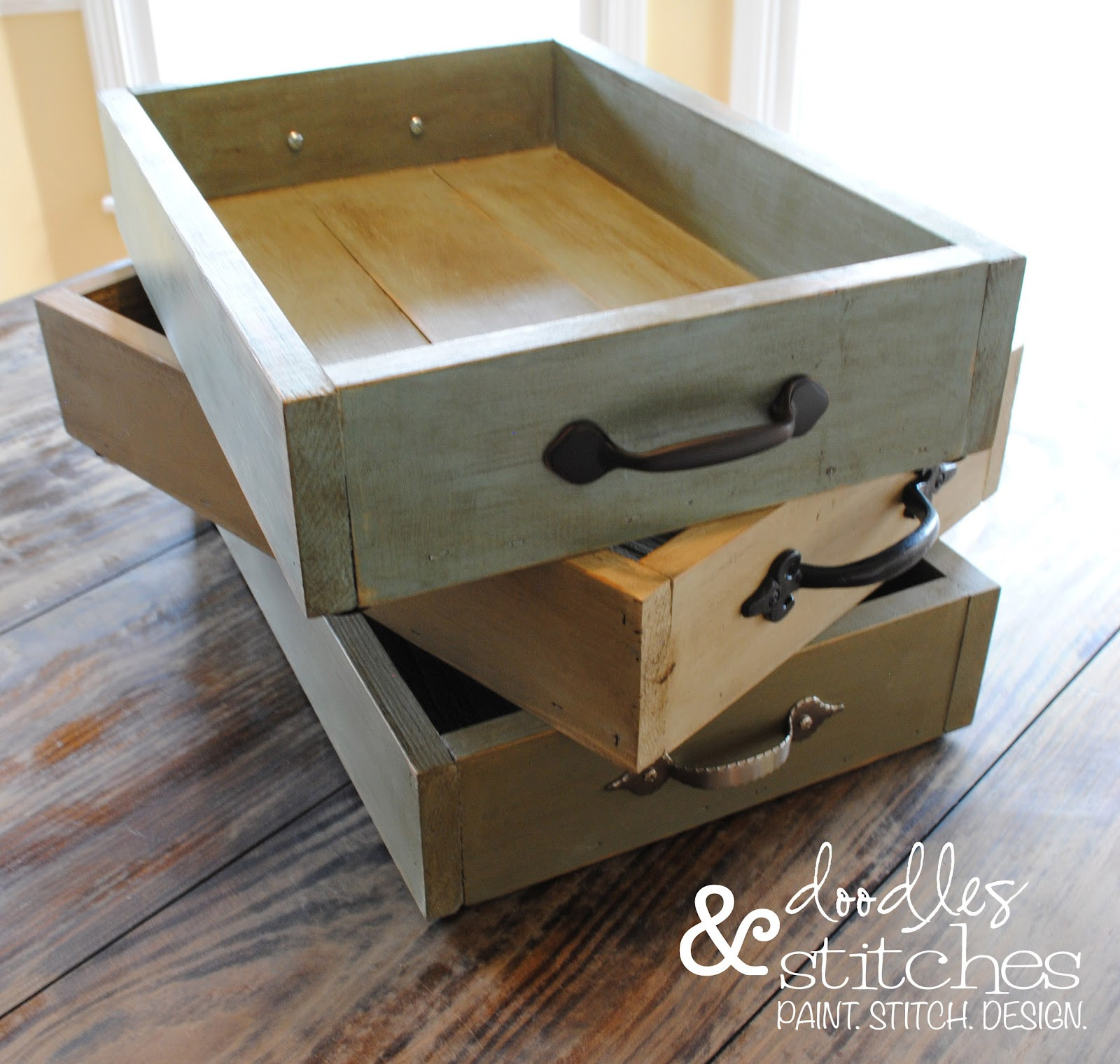 Best ideas about DIY Wood Trays . Save or Pin Doodles & Stitches DIY Wooden Casserole Tray Now.