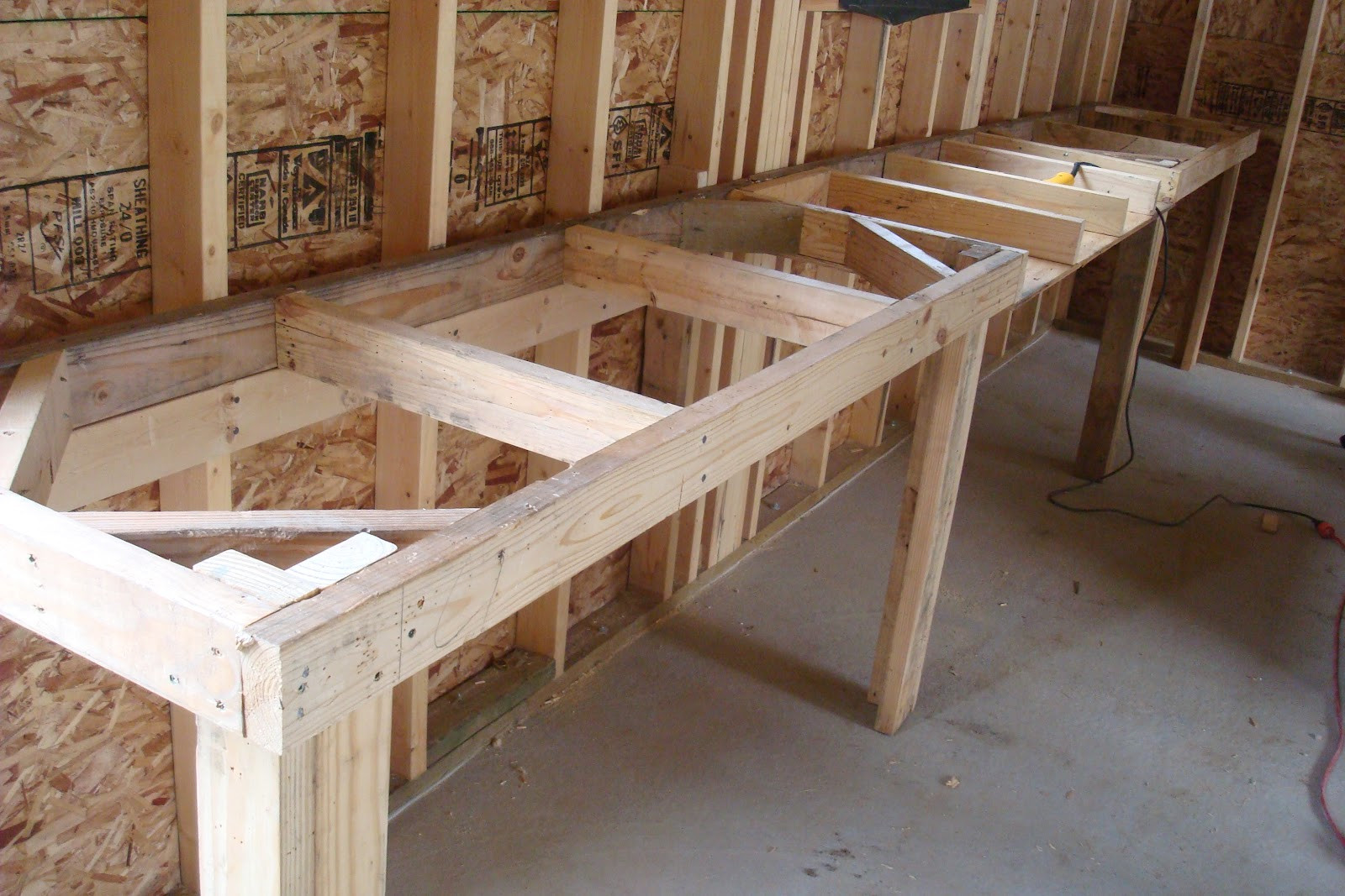 Best ideas about DIY Wood Work . Save or Pin Homemade Work Bench Plans PDF Woodworking Now.
