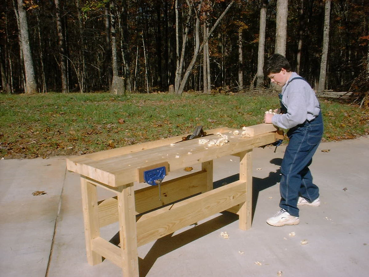Best ideas about DIY Wood Work . Save or Pin Workbench woodworking Now.