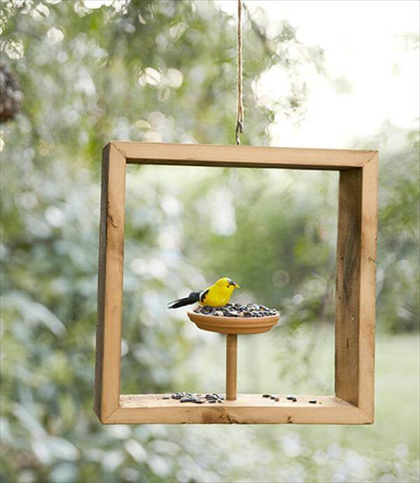 Best ideas about DIY Wooden Bird Feeder . Save or Pin 8 DIY Fun Easy Summer Craft Projects Now.