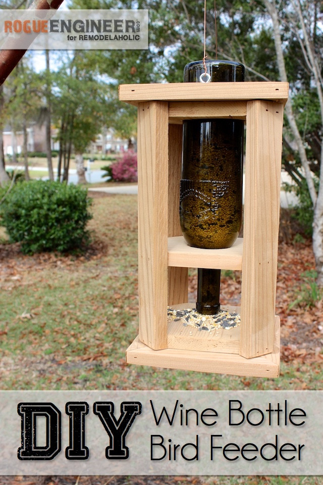 Best ideas about DIY Wooden Bird Feeder . Save or Pin Remodelaholic Now.
