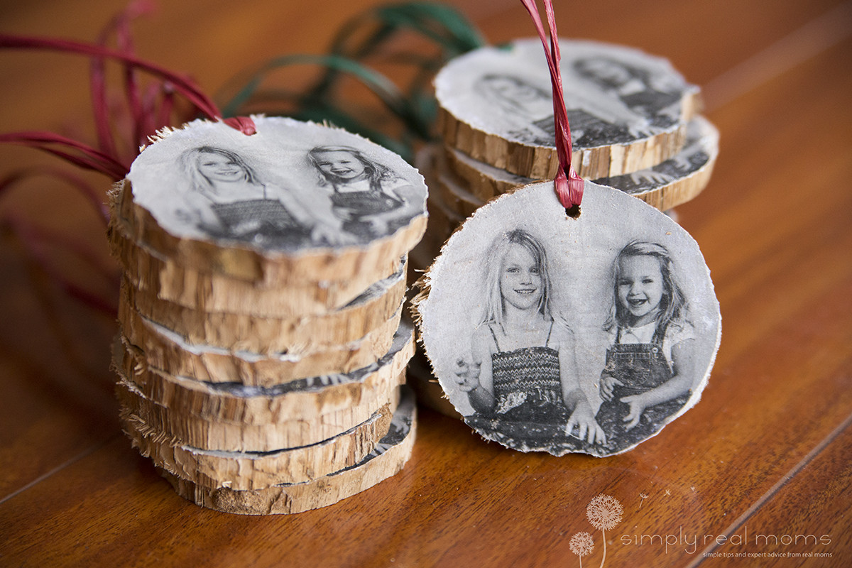 Best ideas about DIY Wooden Christmas Ornaments . Save or Pin DIY Wooden Christmas Ornaments Simply Real Moms Now.