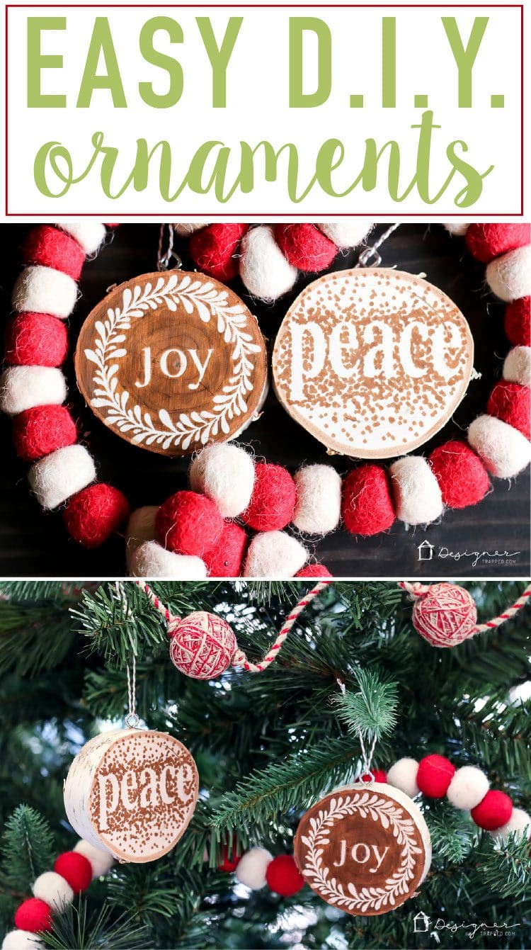 Best ideas about DIY Wooden Christmas Ornaments . Save or Pin Easy & Beautiful DIY Wooden Ornaments Now.