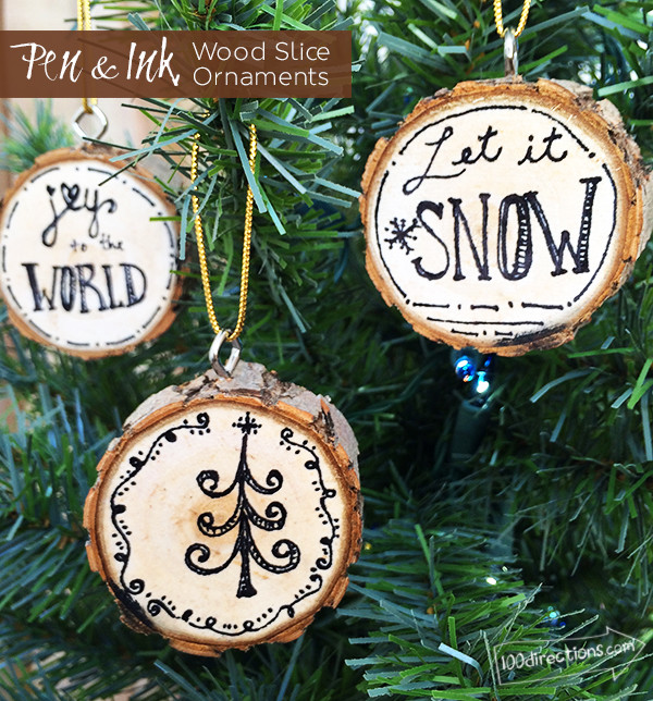 Best ideas about DIY Wooden Christmas Ornaments . Save or Pin 15 DIY Christmas Ornament Tutorials Rae Gun Ramblings Now.