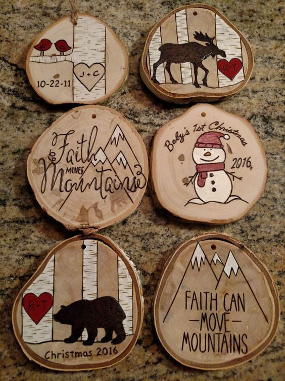 Best ideas about DIY Wooden Christmas Ornaments . Save or Pin 41 Best Christmas Ornaments Decoration Ideas Now.