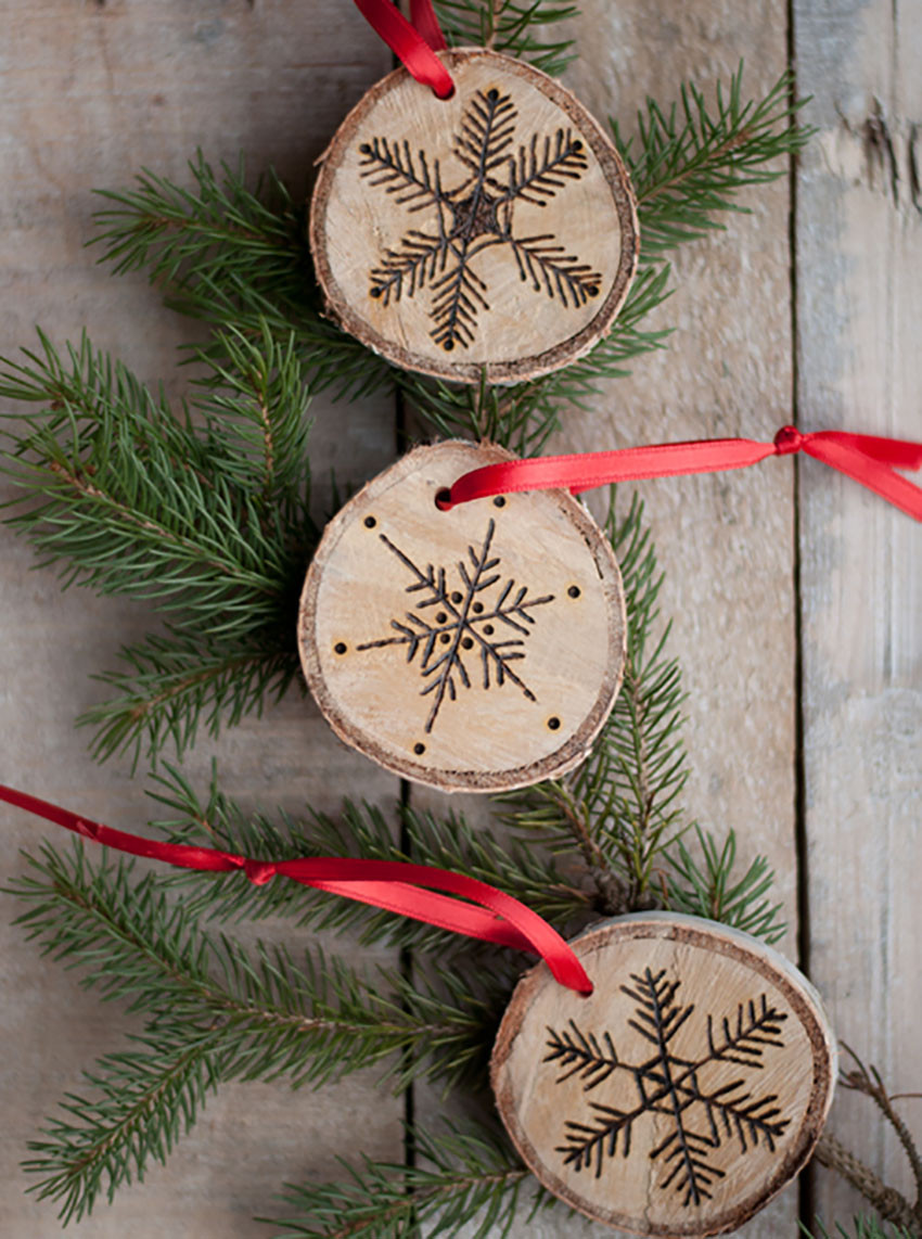 Best ideas about DIY Wooden Christmas Ornaments . Save or Pin Start Your Holiday Decorating Now Now.