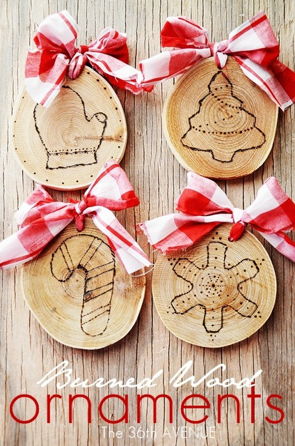 Best ideas about DIY Wooden Christmas Ornaments . Save or Pin 25 DIY Christmas Decorations The 36th AVENUE Now.