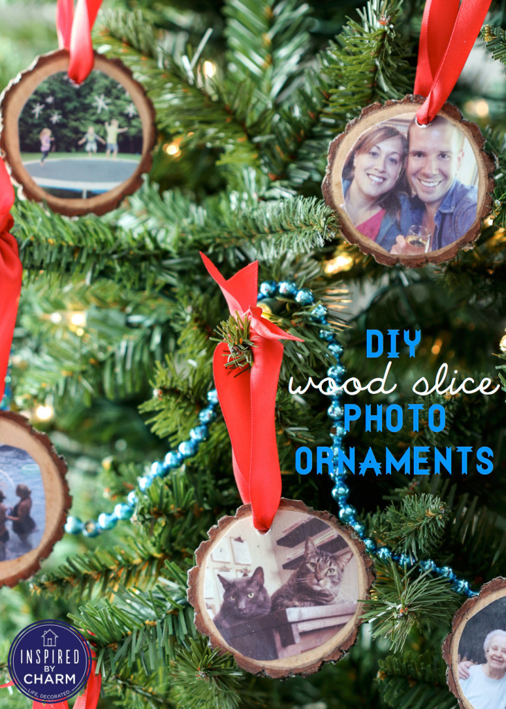 Best ideas about DIY Wooden Christmas Ornaments . Save or Pin 30 Wood Slice Projects for the Holidays My Sister s Now.