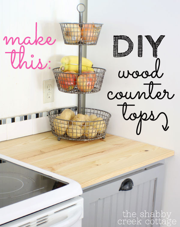 Best ideas about DIY Wooden Countertops . Save or Pin DIY wood countertops Now.